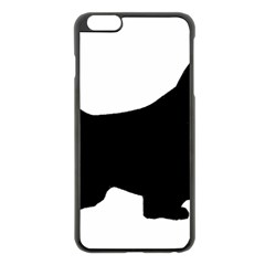 English Springer Spaniel Silo Black Apple iPhone 6 Plus/6S Plus Black Enamel Case