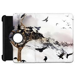 Birds Crows Black Ravens Wing Kindle Fire Hd 7