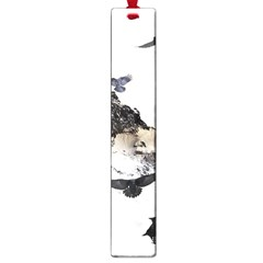 Birds Crows Black Ravens Wing Large Book Marks