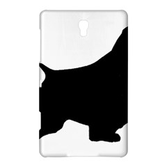 English Springer Spaniel Silo Black Samsung Galaxy Tab S (8.4 ) Hardshell Case
