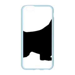 English Springer Spaniel Silo Black Apple Seamless iPhone 6/6S Case (Color)
