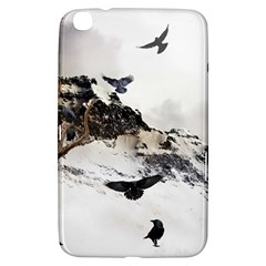 Birds Crows Black Ravens Wing Samsung Galaxy Tab 3 (8 ) T3100 Hardshell Case