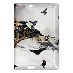 Birds Crows Black Ravens Wing Amazon Kindle Fire HD (2013) Hardshell Case