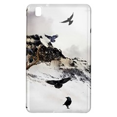 Birds Crows Black Ravens Wing Samsung Galaxy Tab Pro 8.4 Hardshell Case