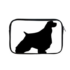 English Springer Spaniel Silo Black Apple MacBook Pro 13  Zipper Case