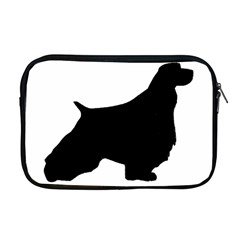 English Springer Spaniel Silo Black Apple MacBook Pro 17  Zipper Case