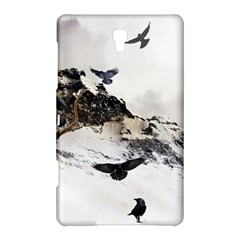 Birds Crows Black Ravens Wing Samsung Galaxy Tab S (8 4 ) Hardshell Case