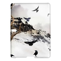 Birds Crows Black Ravens Wing Samsung Galaxy Tab S (10 5 ) Hardshell Case