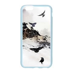 Birds Crows Black Ravens Wing Apple Seamless iPhone 6/6S Case (Color)