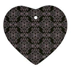 Line Geometry Pattern Geometric Ornament (heart)