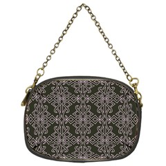 Line Geometry Pattern Geometric Chain Purses (Two Sides)