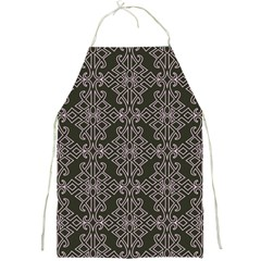 Line Geometry Pattern Geometric Full Print Aprons