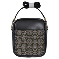 Line Geometry Pattern Geometric Girls Sling Bags