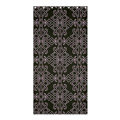 Line Geometry Pattern Geometric Shower Curtain 36  X 72  (stall)