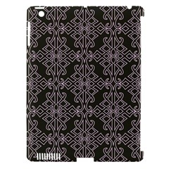 Line Geometry Pattern Geometric Apple Ipad 3/4 Hardshell Case (compatible With Smart Cover)