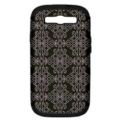 Line Geometry Pattern Geometric Samsung Galaxy S III Hardshell Case (PC+Silicone)