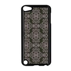 Line Geometry Pattern Geometric Apple Ipod Touch 5 Case (black)
