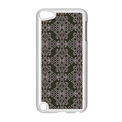 Line Geometry Pattern Geometric Apple Ipod Touch 5 Case (white)