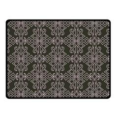 Line Geometry Pattern Geometric Double Sided Fleece Blanket (small)
