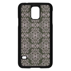 Line Geometry Pattern Geometric Samsung Galaxy S5 Case (black)