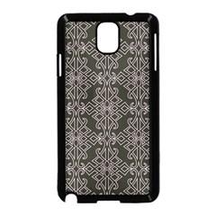 Line Geometry Pattern Geometric Samsung Galaxy Note 3 Neo Hardshell Case (black)