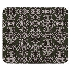 Line Geometry Pattern Geometric Double Sided Flano Blanket (small)