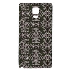 Line Geometry Pattern Geometric Galaxy Note 4 Back Case