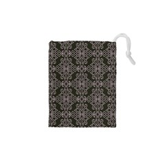 Line Geometry Pattern Geometric Drawstring Pouches (xs)