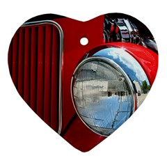 Antique Car Auto Roadster Old Ornament (heart)
