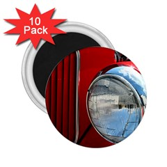 Antique Car Auto Roadster Old 2 25  Magnets (10 Pack)