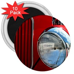 Antique Car Auto Roadster Old 3  Magnets (10 pack)
