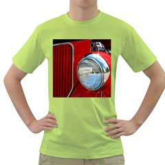 Antique Car Auto Roadster Old Green T-Shirt