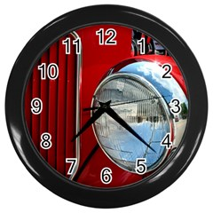 Antique Car Auto Roadster Old Wall Clocks (black)