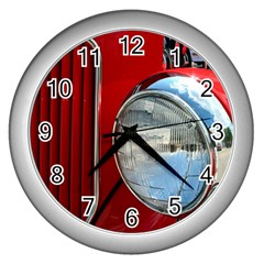 Antique Car Auto Roadster Old Wall Clocks (silver)
