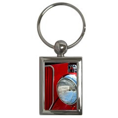 Antique Car Auto Roadster Old Key Chains (rectangle)
