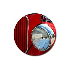 Antique Car Auto Roadster Old Magnet 3  (round)