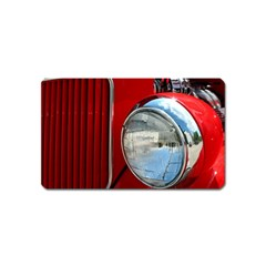 Antique Car Auto Roadster Old Magnet (Name Card)
