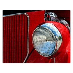Antique Car Auto Roadster Old Rectangular Jigsaw Puzzl