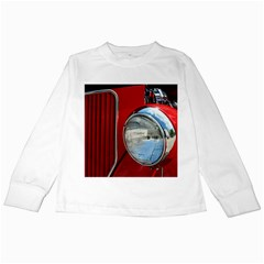 Antique Car Auto Roadster Old Kids Long Sleeve T-Shirts