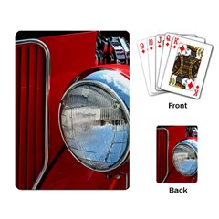 Antique Car Auto Roadster Old Playing Card