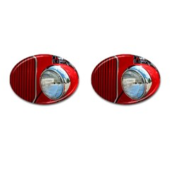 Antique Car Auto Roadster Old Cufflinks (oval)