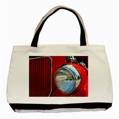 Antique Car Auto Roadster Old Basic Tote Bag