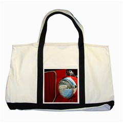 Antique Car Auto Roadster Old Two Tone Tote Bag
