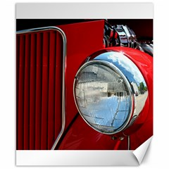 Antique Car Auto Roadster Old Canvas 8  X 10