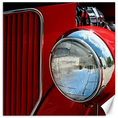 Antique Car Auto Roadster Old Canvas 20  x 20