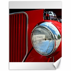 Antique Car Auto Roadster Old Canvas 18  X 24