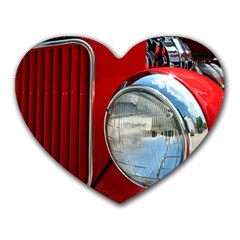 Antique Car Auto Roadster Old Heart Mousepads