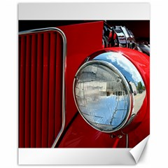Antique Car Auto Roadster Old Canvas 11  x 14
