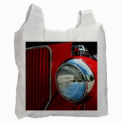 Antique Car Auto Roadster Old Recycle Bag (Two Side)