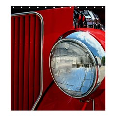 Antique Car Auto Roadster Old Shower Curtain 66  X 72  (large)